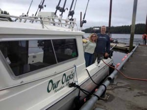 Our boat Oasis Alaska Charters