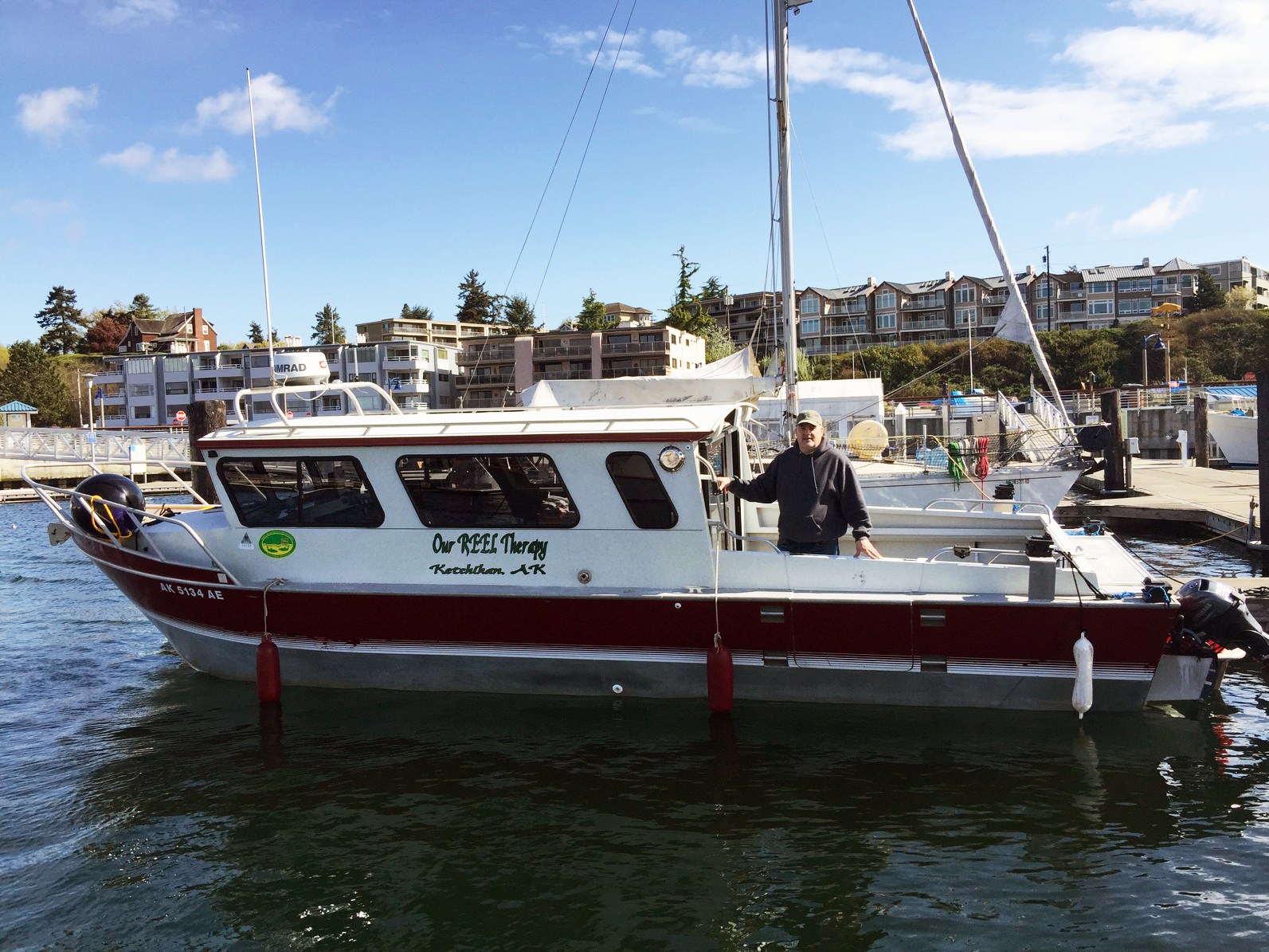 Our Reel Therapy Charter Fishing Boat In Ketchikan Alaska