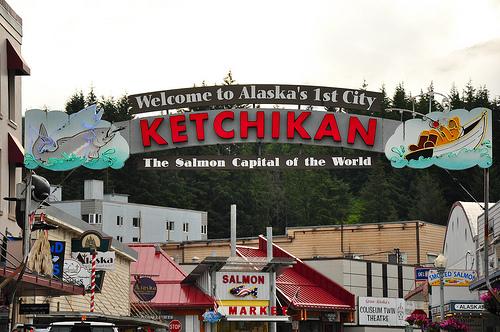 Downtown Ketchikan Alaska