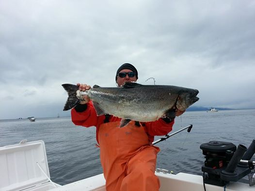 Captain Chris Klimas King Salmon