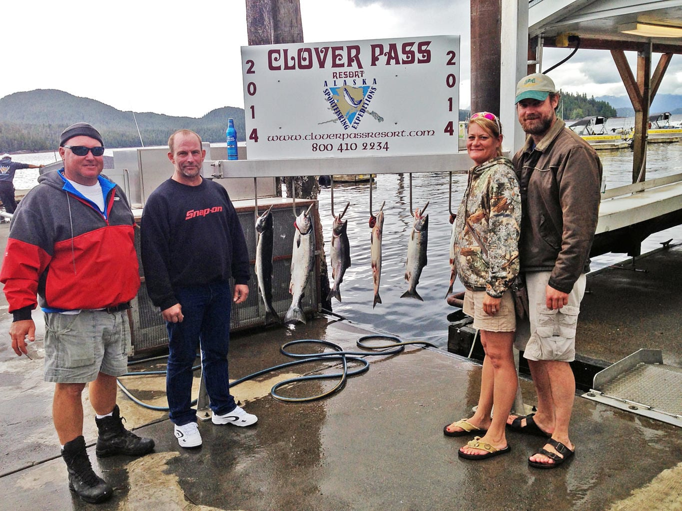 Fishing in Ketchikan July, 24th 2014