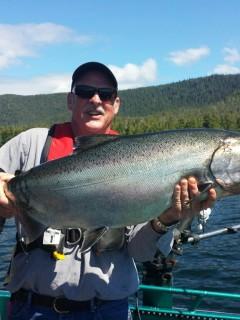 Salmon Fishing in Ketchikan