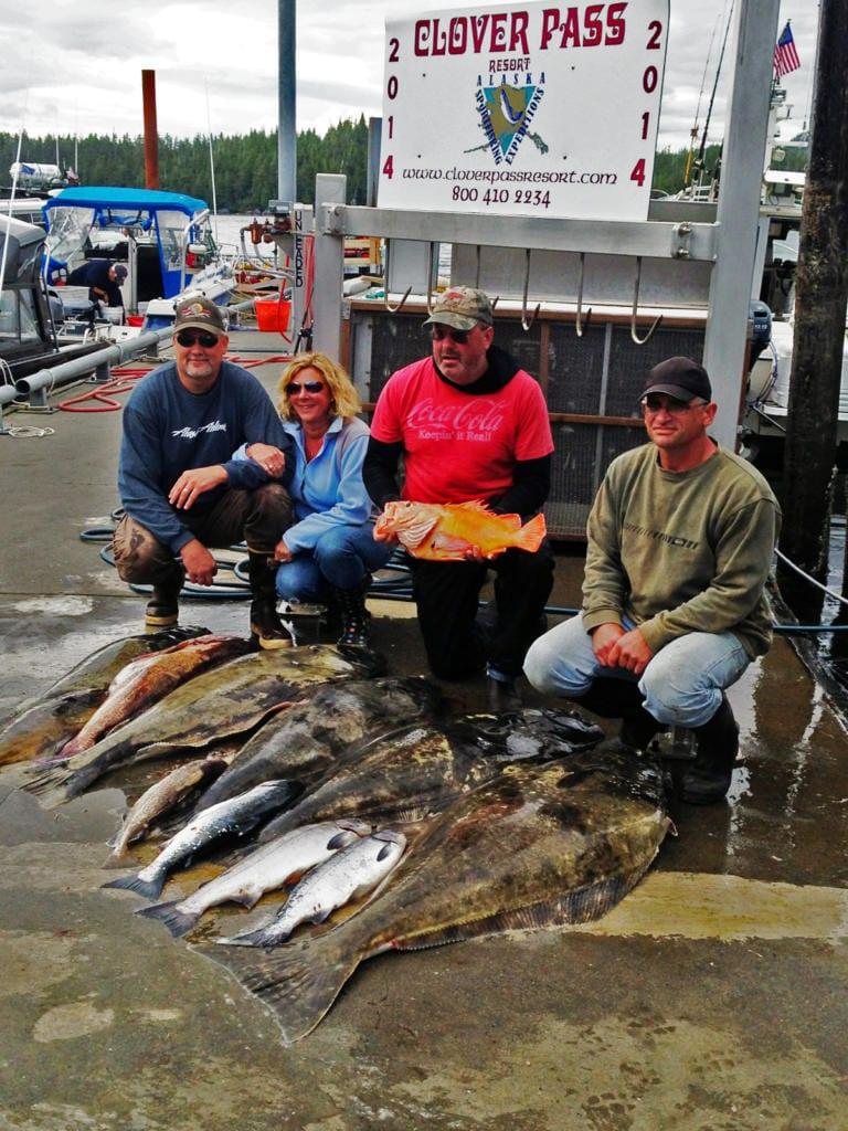 Halibut Fishing in Ketchikan Alaska with Oasis Alaska Charters