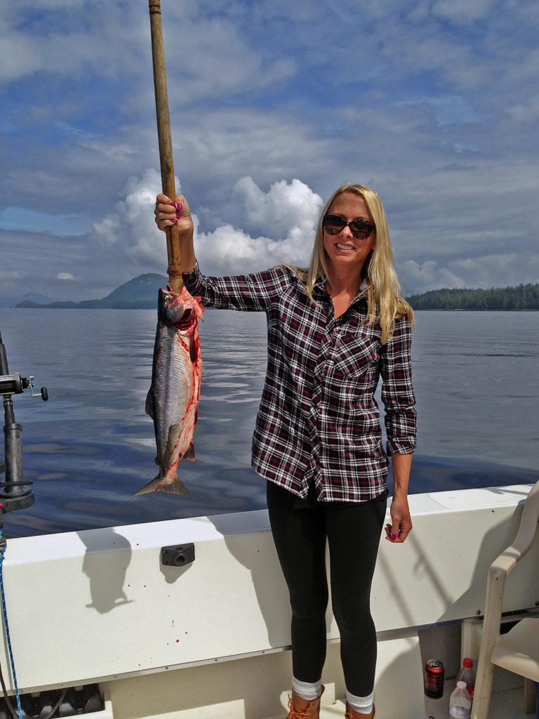 Fishing in Ketchikan Alaska July, 30th 2014