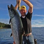 Napa King Salmon on budget alaska fishing charter
