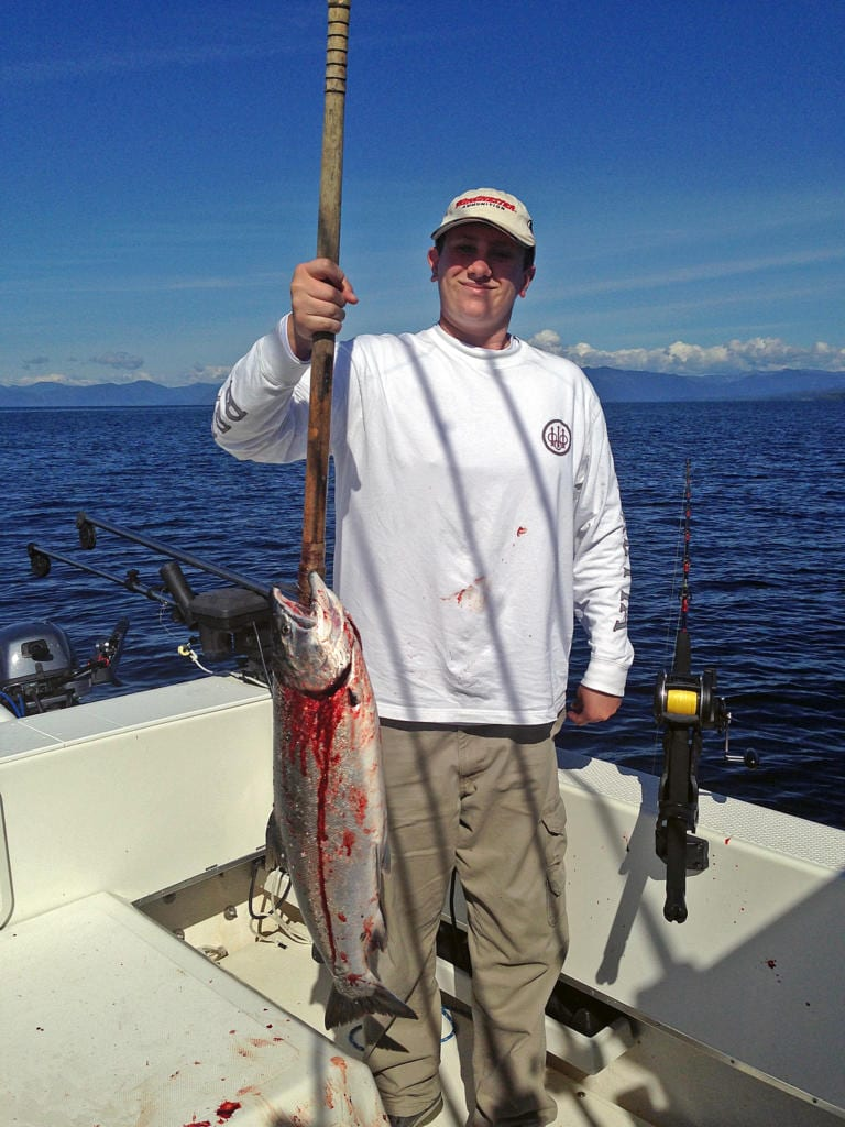 Charter Fishing in Ketchikan Alaska August, 16th 2014