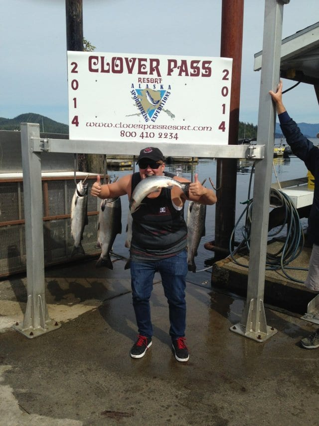 Charter Fishing in Ketchikan Alaska August 23rd, 2014