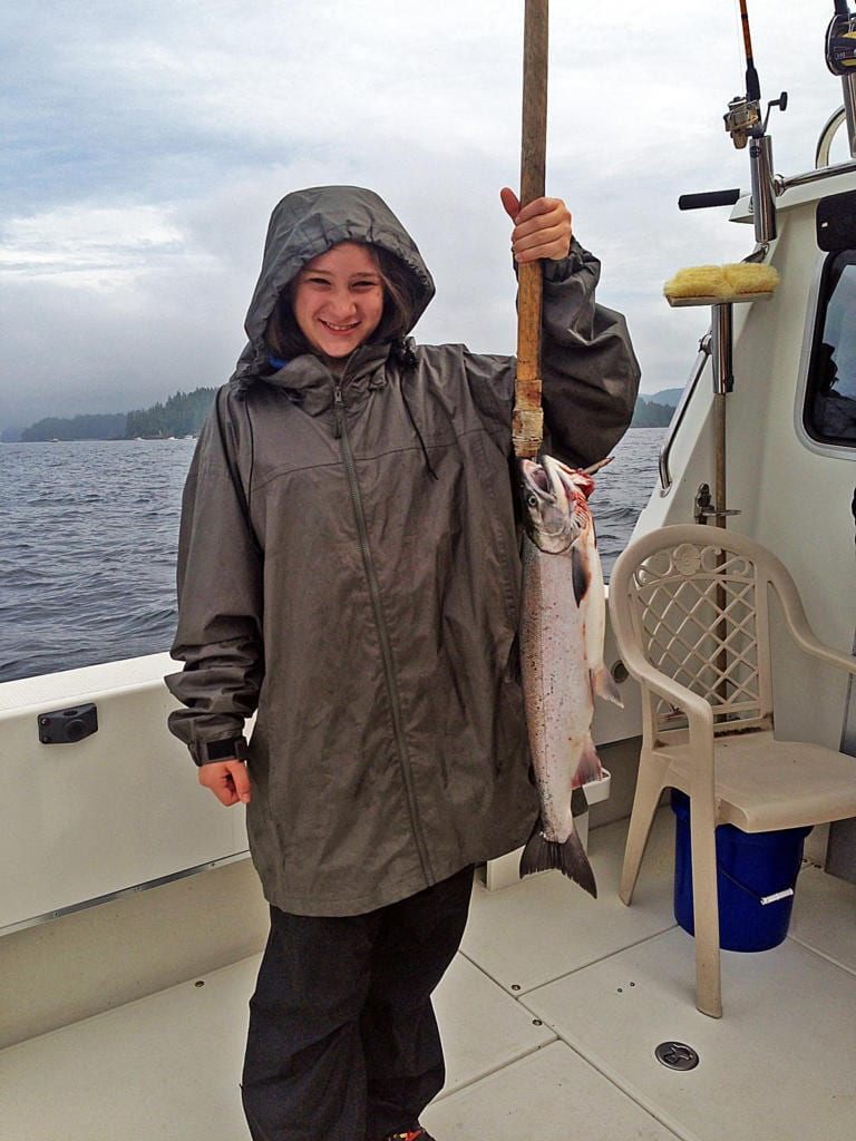 Fishing in Ketchikan Alaska August, 4th 2014 with Oasis Alaska Charter Fishing