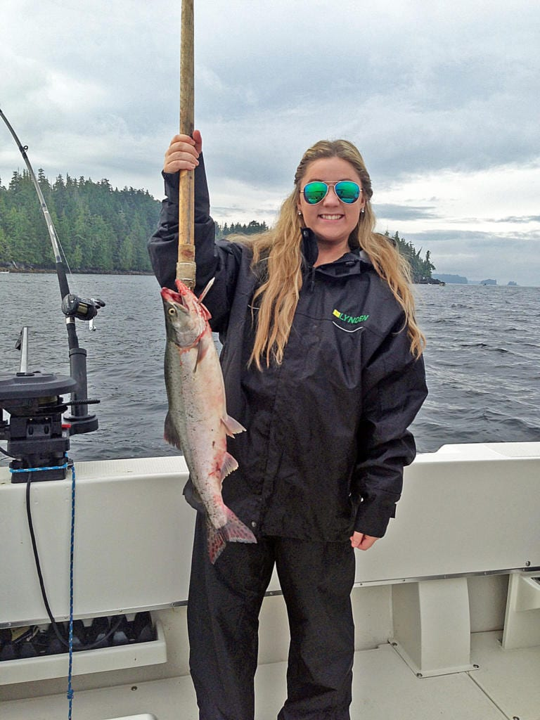 Fishing in Ketchikan Alaska August, 4th 2014