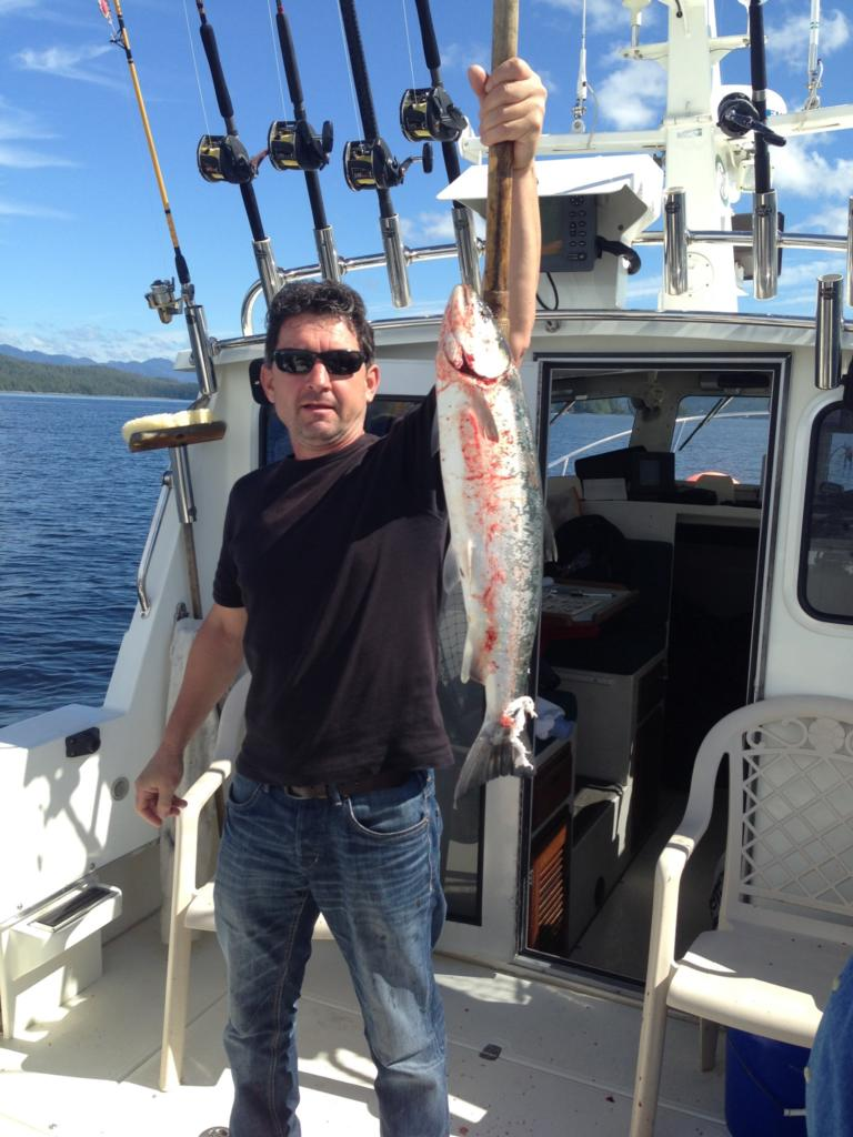 Charter Fishing in Ketchikan Alaska August, 11th 2014