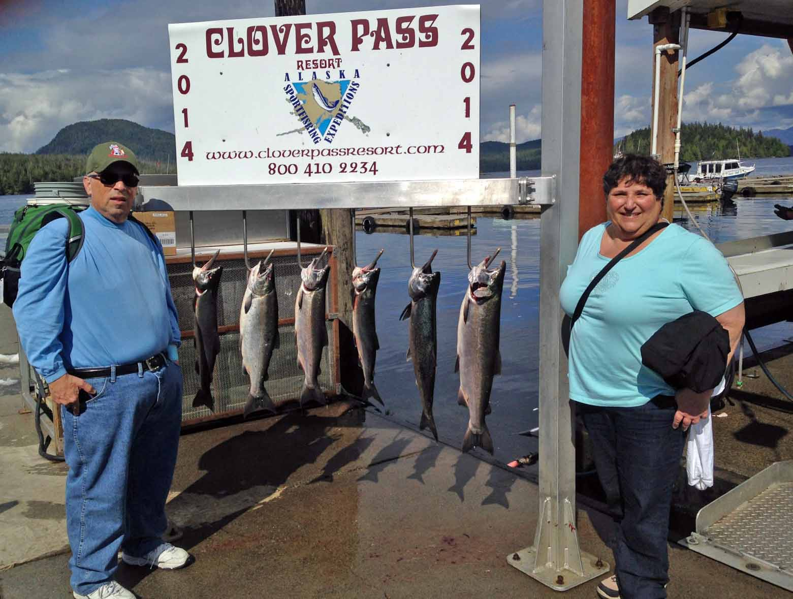 Charter Fishing Ketchikan Alaska August, 27th 2014