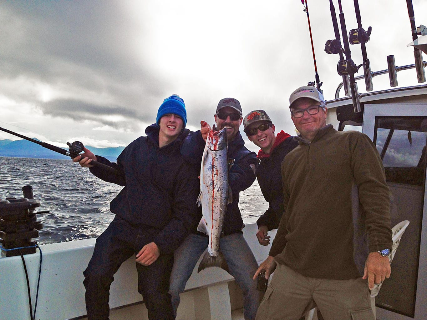 Fishing in Ketchikan Alaska August, 8th 2014 with Oasis Alaska Charter Fishing