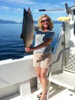 Salmon Fishing Ketchikan with Oasis Alaska Charters