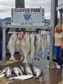 Jim Traci fishing with Oasis Alaska Charters