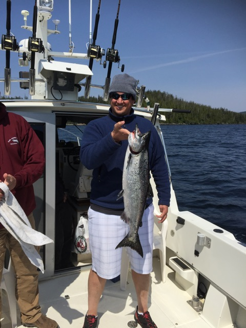 Charter Fishing Ketchikan Alaska May, 15rd 2015 with Oasis Alaska Charters