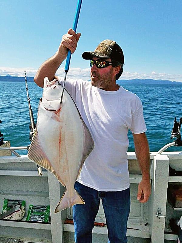 Salmon and halibut fishing in ketchikan alaska with for Ketchikan salmon fishing