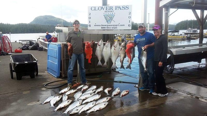 Full Day Fishing in Ketchikan Alaska July 9th 2016