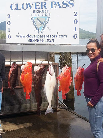 Halibut Fishing in Ketchikan Alaska July 8th 2016