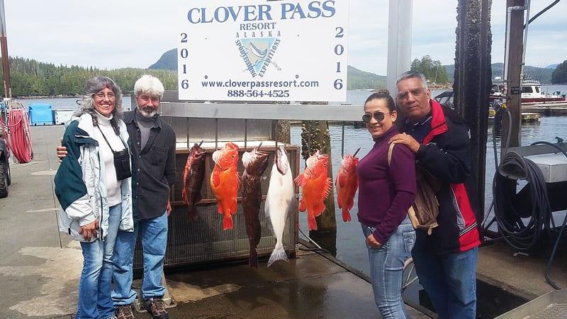 Halibut Fishing in Ketchikan Alaska July 8th 2016