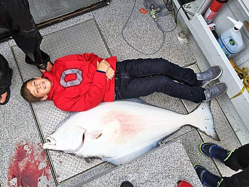 More big halibut from Oasis Alaska Charters