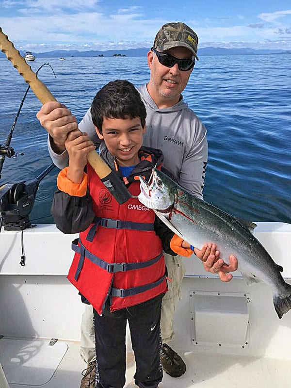 4 Hr. Salmon Fishing in Ketchikan Alaska July 14th 2016