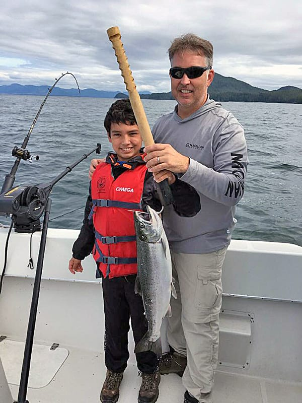 4 Hr. Salmon Fishing in Ketchikan Alaska July 14th 2016