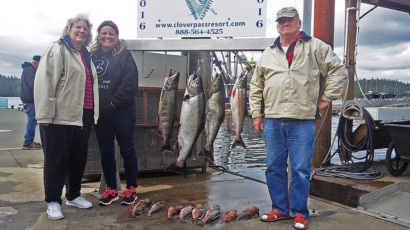 Salmon Fishing in Ketchikan June 24th