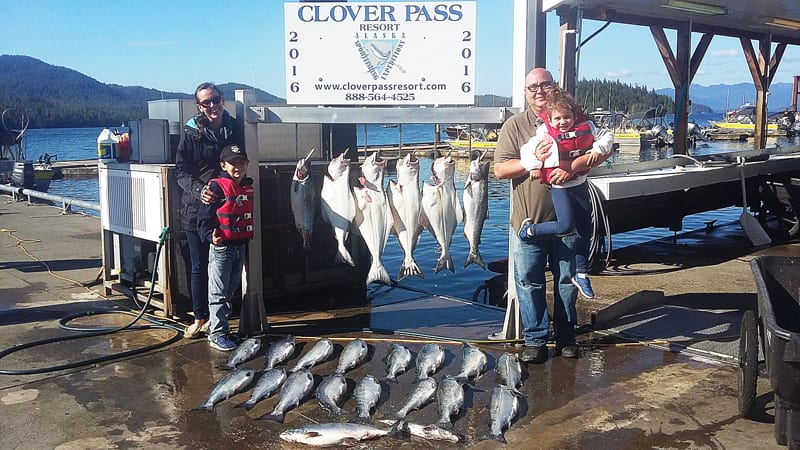 Salmon and Halibut Fishing in Ketchikan June 27th