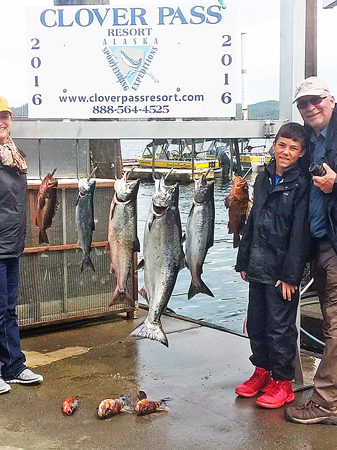 Salmon fishing in Ketchikan June 29 2016