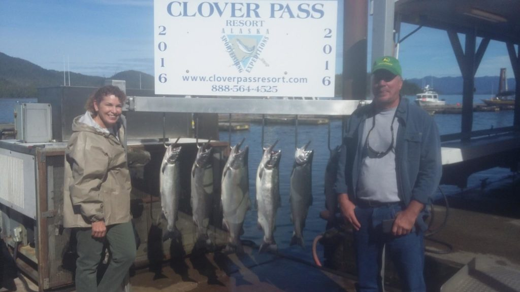 Oasis Alaska Charters Salmon Fishing