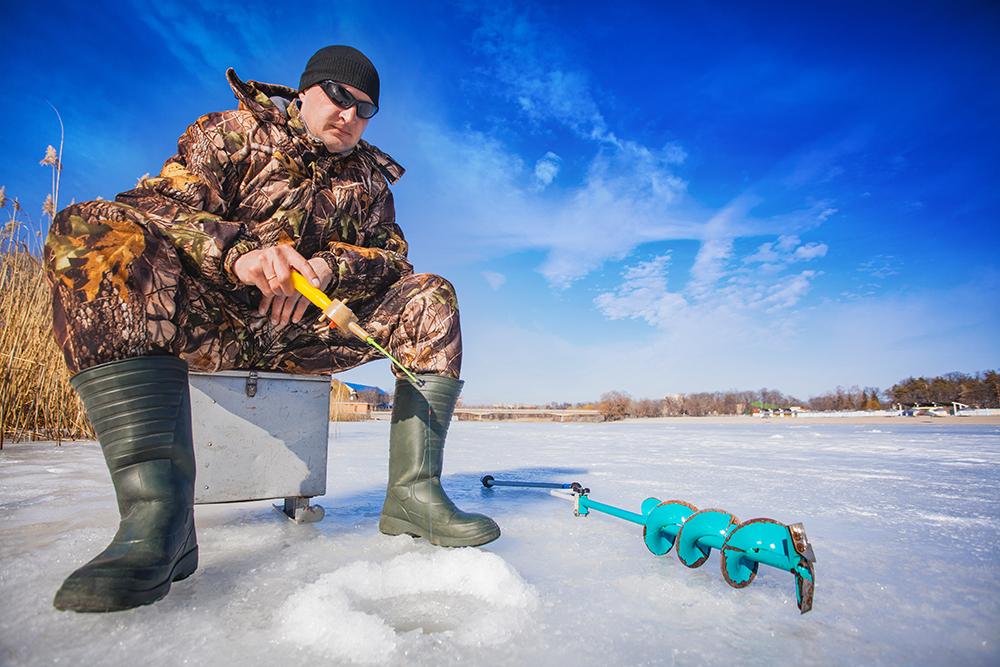 Alaska Winter Fishing