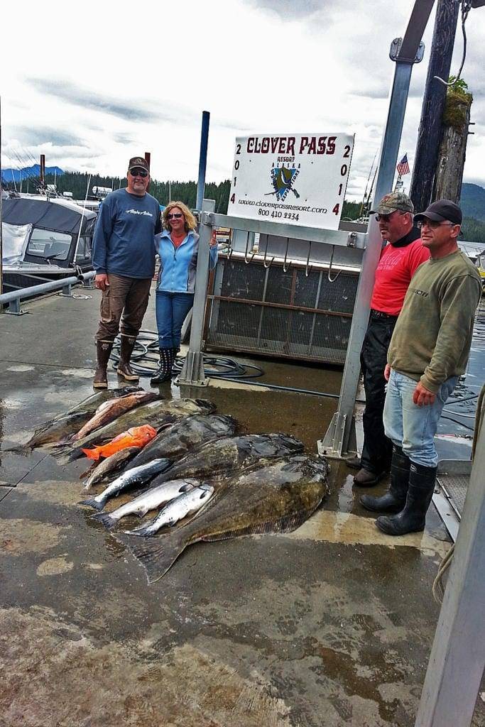 Halibut Fishing in Ketchikan Alaska