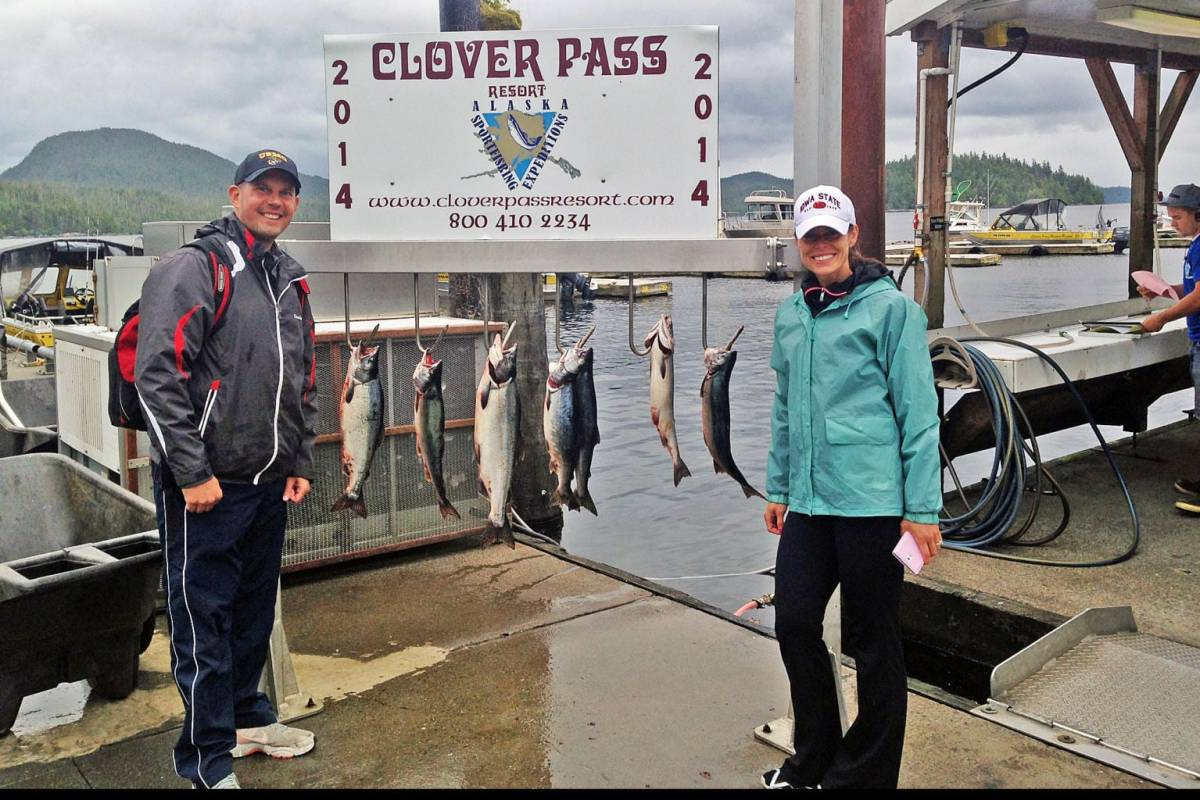 Fishing in Ketchikan Alaska July, 25th 2014