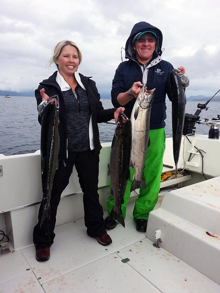 Charter Fishing Ketchikan Alaska September, 18th 2014 with Oasis Alaska Charters