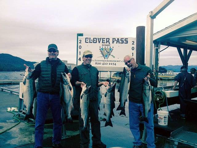 Charter Fishing in Ketchikan Alaska September 11th, 2014 with Oasis Alaska Charters