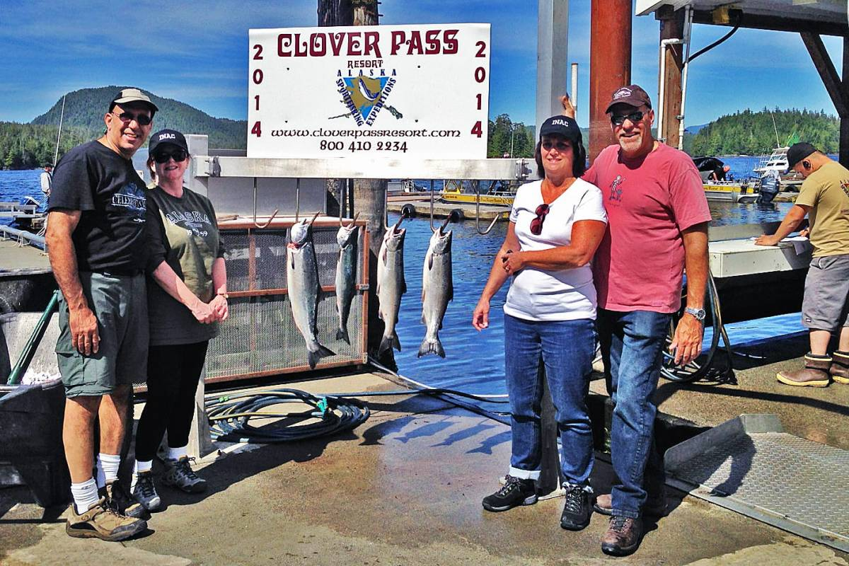 Charter Fishing in Ketchikan July, 16th 2014